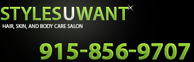 El Paso Beauty Salon - From hair styling to IPL (laser hair removal) and everything in between.  Styles U Want is the place to go.